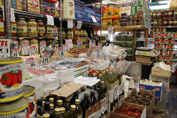 Arthur Avenue grocery shop