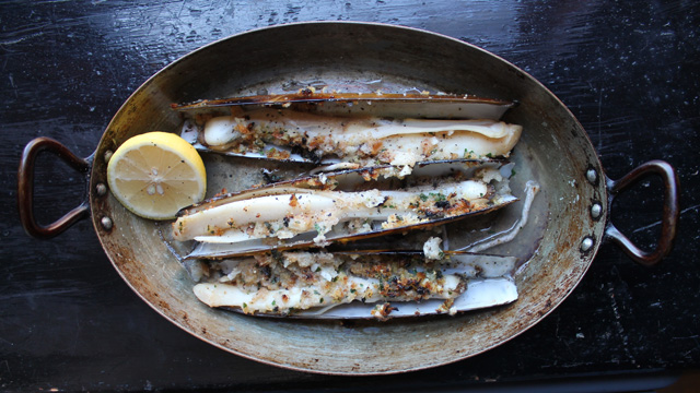 razor-clams-for-dinner
